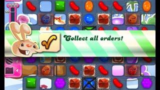 Candy Crush Saga Level 1634 walkthrough (no boosters)