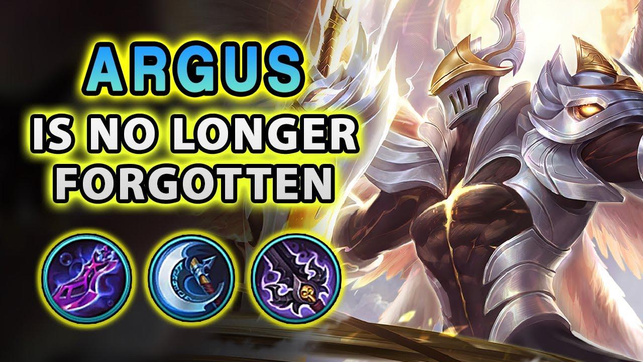 Finally! The Forgotten Fighter Argus Got Revamped | Mobile Legends