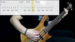 Ling Tosite Sigure - Boukan (Onlooking) (Bass Cover) (Play Along Tabs In Video)