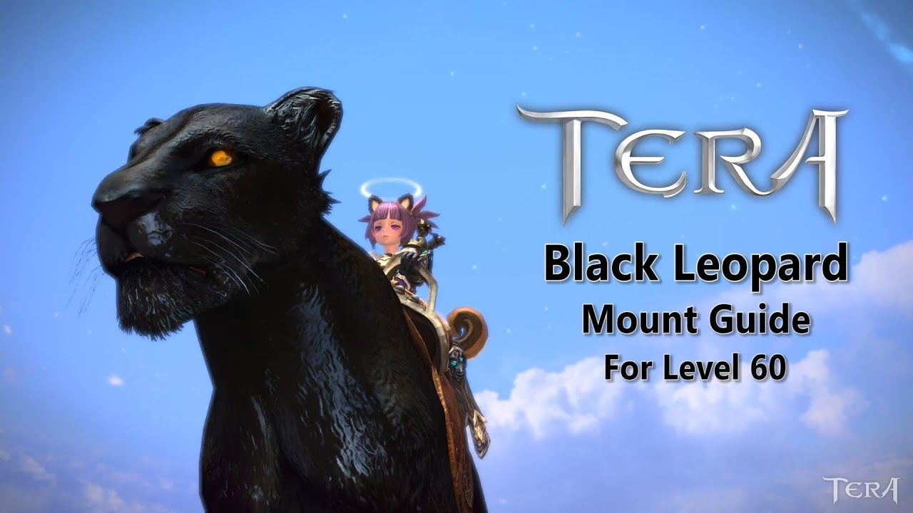 TERA Online: How to get the FREE Black Leopard/Panther Mount