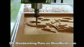 Custom Cnc Woodcarving Machine