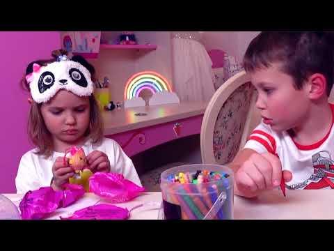 Макс и Катя рисуют ЧЕЛЛЕНДЖ Три Маркера