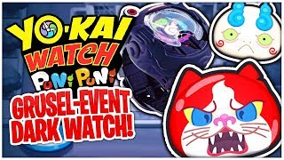GRUSELIGES Dark Watch Event! Dark Jibanyan & Komasan | Yo-Kai Watch Puni Puni Deutsch