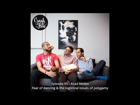 Episode 95 - Asad Moten - Fear of dancing & the logistical issues of polygamy