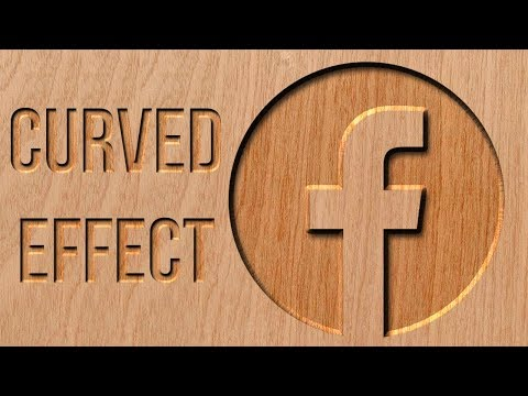 Cutting Wood Logo/Text Effect | Photoshop Tutorial