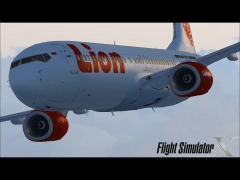 (GAME PC) FSX FLIGHT  PALEMBANG - JAKARTA
