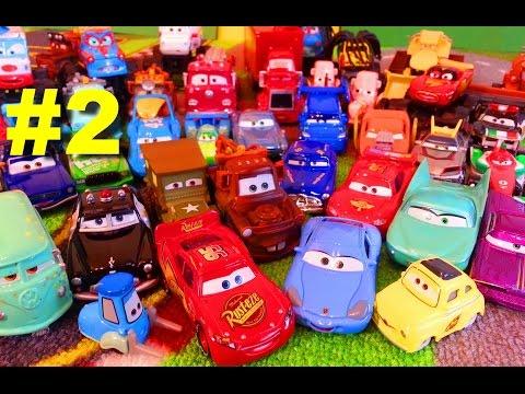 Тачки Моя Коллекция 2 Молния Маквин Мэтр и их Друзья Мультики про Машинки для Детей