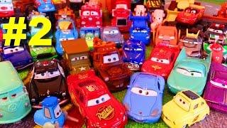 Тачки Моя Коллекция #2 Молния Маквин Мэтр и их Друзья Мультики про Машинки для Детей