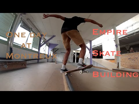 One day #5  Montreux (Empire Skate Building)
