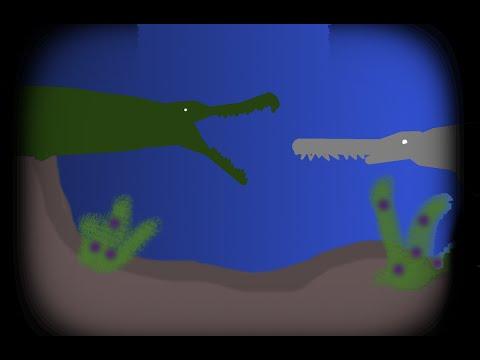 GRFC - sarcosuchus imperator vs onchopristis numidus(read descr.)