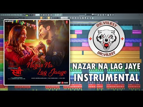 Nazar Na Lag Jaaye (Instrumental) | STREE | Ash King & Sachin-Jigar | Dr