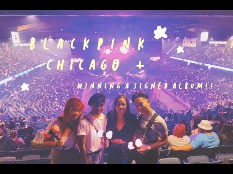I WON A SIGNED BLACKPINK ALBUM IN YOUR AREA TOUR VLOG