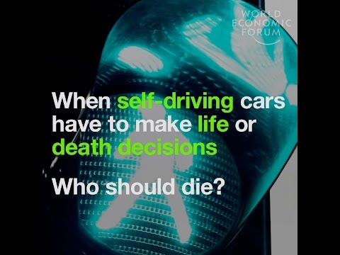 When self driving cars have to make life or death decisions - Who should die?