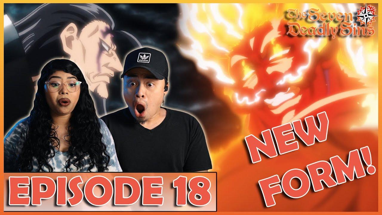 Download ESCANOR VS DEMON KING! NEW FORM! The Seven Deadly Sins Season 5 Episode 18 Reaction