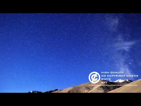 Stars  Milky Way Galaxy Day And Night Free Stockage Footage + Download Link