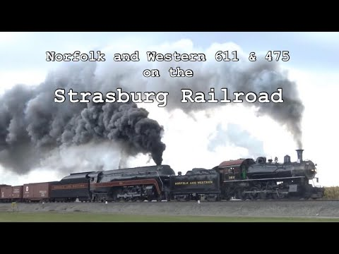 Norfolk & Western 611 And 475 On The Strasburg Rail Road