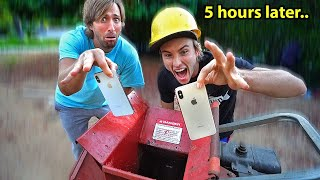 Last to drop iPhone 11 in SHREDDER wins!