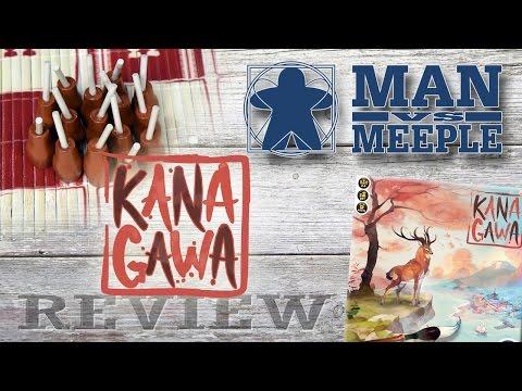 Kanagawa (Iello Games) Review by Man Vs Meeple