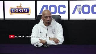 Conferencia de Prensa│Roberto Mosquera