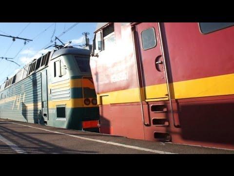 SKODA ЧС2т-955 и ЧС7-092 с поездом №79 СПб-Волгоград (RZD)