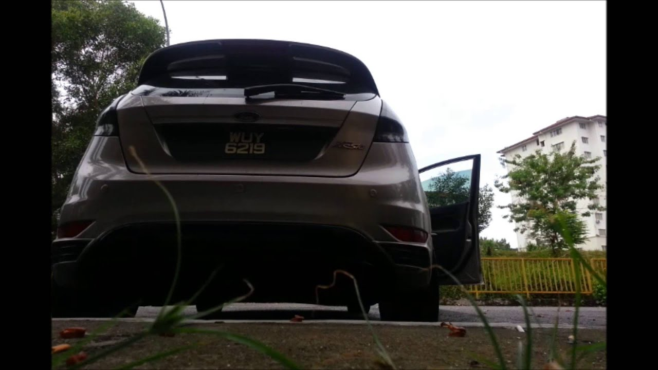 Ford fiesta mk7 powered by rotrex supercharger milltek full race exhaust system youtube