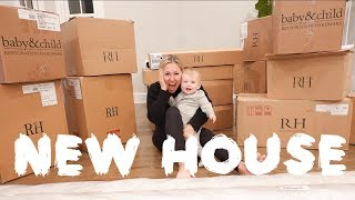 WE MOVED INTO A NEW HOUSE!