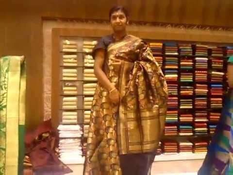 Jayalakshmi Silks Trivandrum Wedding Saree Display