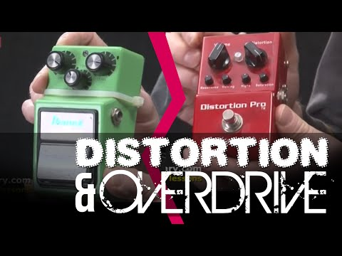 Overdrive And Distortion Pedals | Whats the difference? Guitar Lesson With Danny Gill | Licklibrary