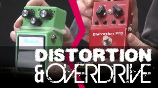 overdrive and distortion pedals   whats the difference guitar lesson with danny gill   licklibrary
