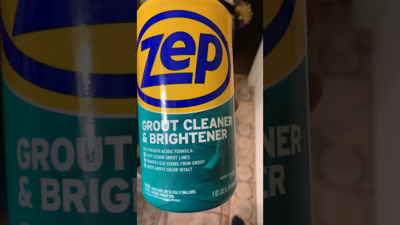 Download Zep Grout Cleaner