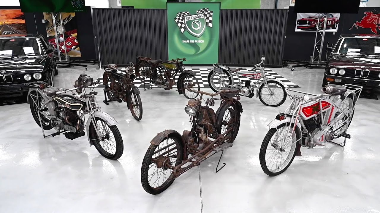 Rare and Unique Motorcycle Collection - 2020 Shannons Spring Timed Online Auction