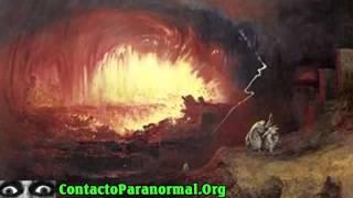 Sodoma y Gomorra destruidas por tecnología extraterrestre