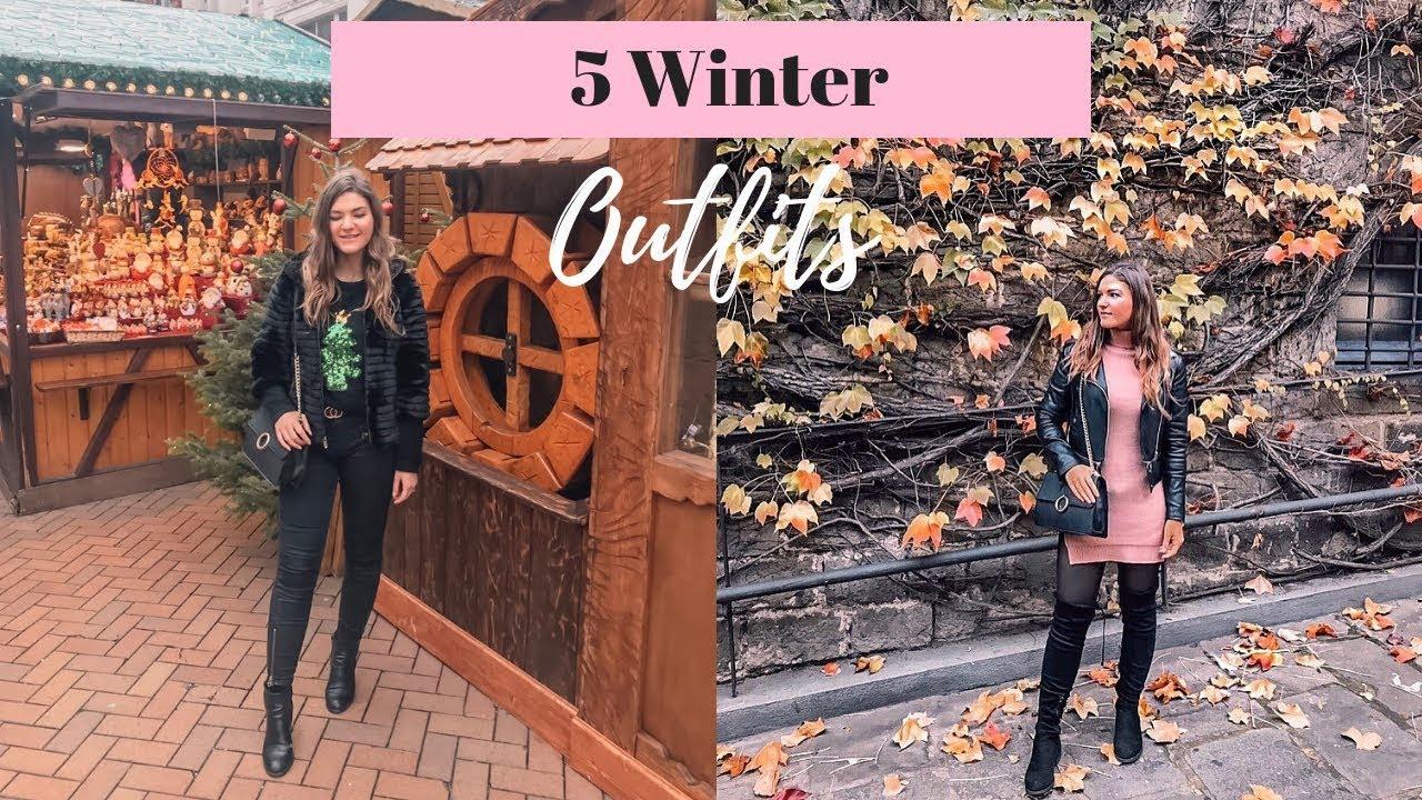 [VIDEO] - Autumn  Winter Lookbook   5 Outfits 2018 1