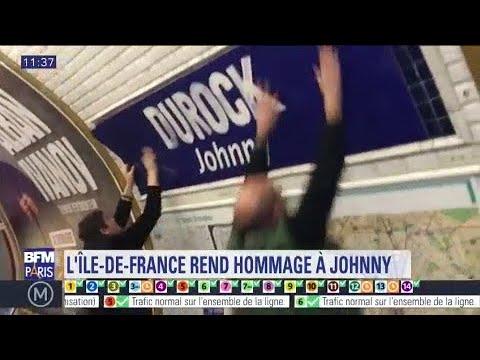 """La station Duroc rebaptisée """"Durock Johnny"""" : les Parisiens saluent l'initiative"""