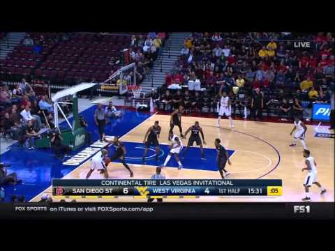 NCAAB 11 27 2015 San Diego State vs West,Virginia 720p60