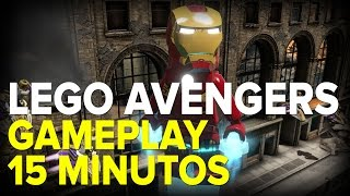 LEGO Marvel's Avengers - 15 Minutos - Gameplay comentado
