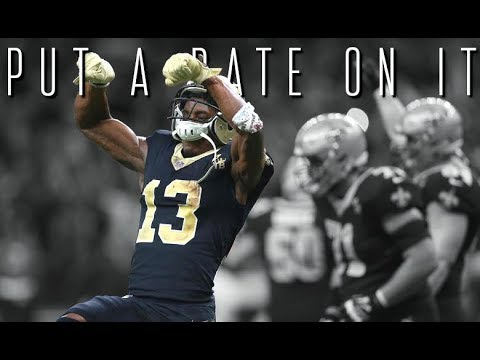 """Michael Thomas - """"Put A Date On It"""" ᴴᴰ (2018 New Orleans Saints Highlights)"""