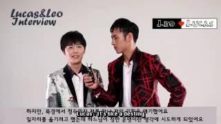 [English Sub] Korean Magazine Interview - LeoLucas