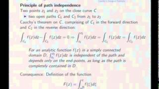 Mod-08 Lec-38 Integration of Complex Functions