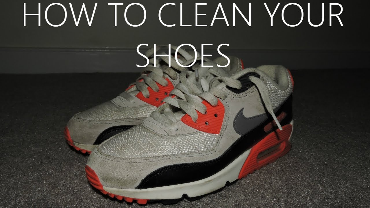 How to Wash Your Shoes