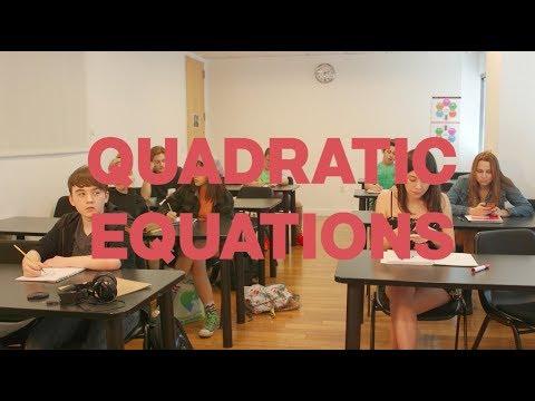 QUADRATIC EQUATIONS  A film by Bebe Wood