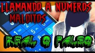 LLAMANDO A NUMEROS MALDITOS,  REAL O FALSO, RITUAL DEL TELEFONO MALDITO | Misteriosaldes