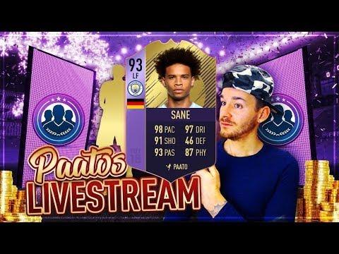 PFA SBC Leroy Sane günstig abschließen und gegen euch testen   PaatoFIFA FIFA 18 Livestream