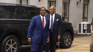 Bill Cosby Gets Catcalled on Way to Sentencing at Pennsylvania Courthouse