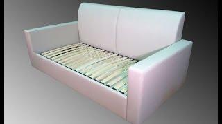 Ортопедический диван-кровать(Один из вариантов ортопедических диванов-кроватей для подростка под заказ. Удобен для ежедневного сна..., 2015-09-16T10:19:42.000Z)
