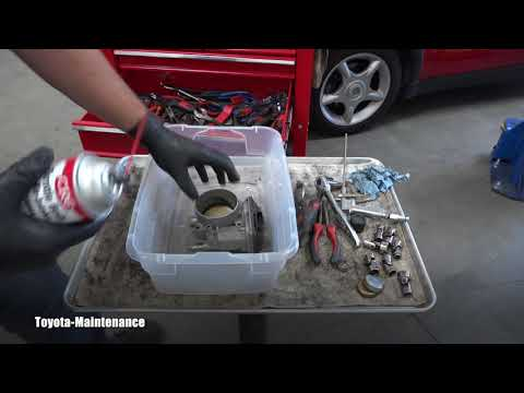 How to clean throttle body on Toyota Sequoia