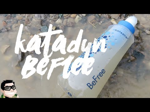 Katadyn BeFree Water Filter is The Easiest I've Used!!