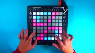 Teminite & PsoGnar - Lion's Den // Launchpad Pro Cover [Collab with TH!X]