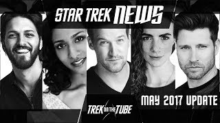 STAR TREK DISCOVERY - May 2017 Update : More cast and Writers strike
