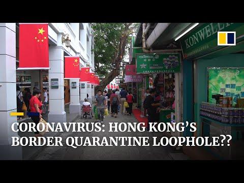 Coronavirus: Hong Kong's Border Quarantine Loophole With The Chinese Mainland?